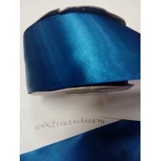 Атласная синий
