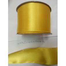 Лента атласная жёлтая