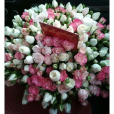 С любовью розы