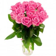 Розы розовые 21